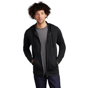 Sport-Tek® Men's PosiCharge® Tri-Blend Wicking Fleece Full-Zip Hooded Jacket