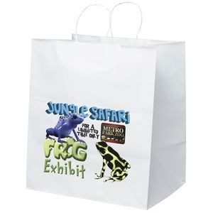 Brute White Shopper Bag (ColorVista)