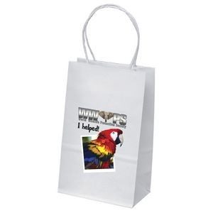 Pup White Shopper Bag (ColorVista)