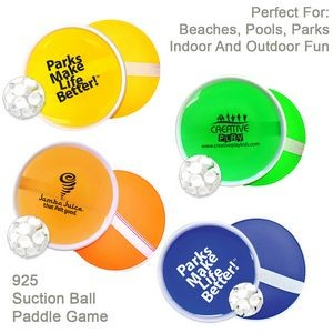 Suction Ball Paddle Game