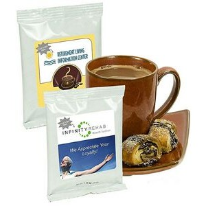 Healthcare Hot Chocolate w/Printed Label (White)