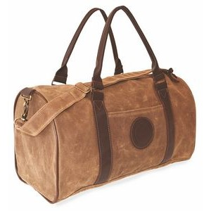 Waxed Leather Club Duffel Bag