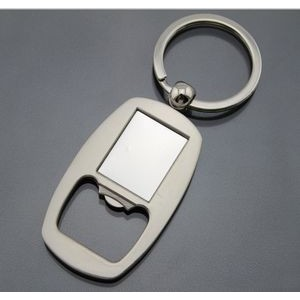 Sticker Imprinting Bottle Opener Key Tag
