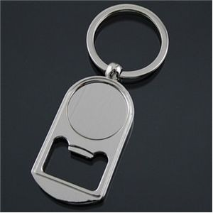 Large Imprinting Area Bottle Opener Key Tag