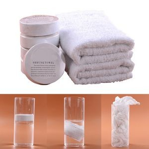 Compressed Cotton Hand Towel