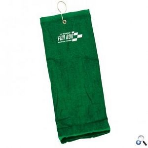 Trifold Golf Towel Embroidered