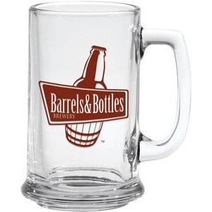 15 Oz. Glass Tankard Mug