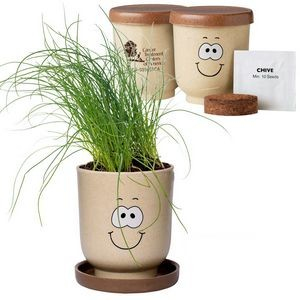 Goofy Group™ Grow Pot Eco-Planter w/Chive Seeds