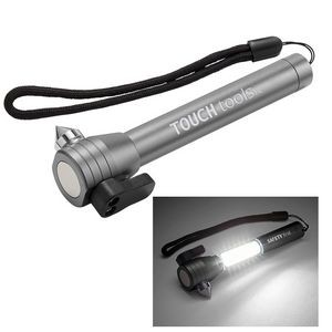 4-in-1 COB Emergency Flashlight