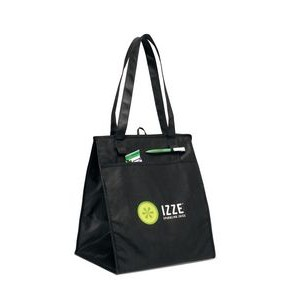 Deluxe Insulated Grocery Shopper Black