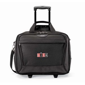 Icon Wheeled Computer Bag Black
