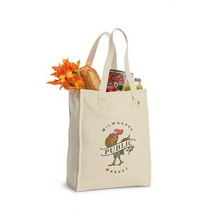 Natural Recycled Cotton Market Bag