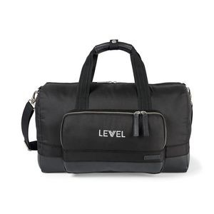 Black Travis & Wells® Ashton Travel Bag