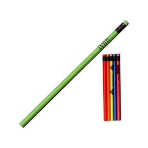 Round Super Bargain Buster Neon Pencil