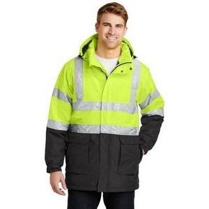 Port Authority® ANSI 107 Class 3 Safety Heavyweight Parka Jacket