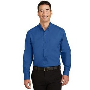 Port Authority® Men's Tall SuperPro™ Twill Shirt