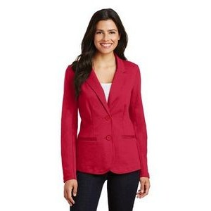 Port Authority® Ladies Knit Blazer Jacket