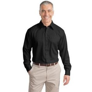 Port Authority® Men's Tall Non-Iron Twill Shirt