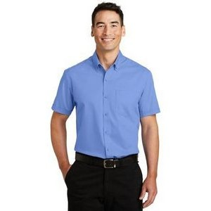 Port Authority® Men's Short Sleeve SuperPro™ Twill Shirt