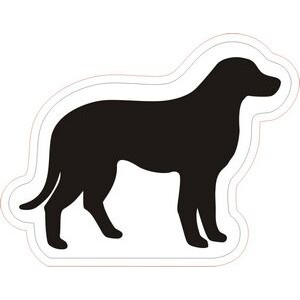 Dog Magnet (0.33 mm Thick)
