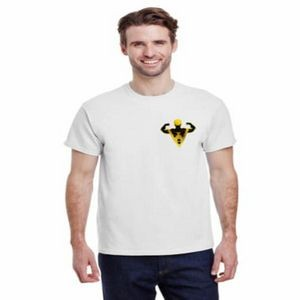 "3600-L04 - T-Shirt - Full-Color On White/Very Light T-Shirt (Up To 4"" x 4"")"